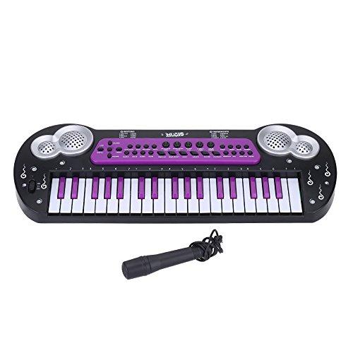 Andoer 37 Tasten multifunktionelle Elektronische Musik Keyboard Piano Orgel mit Mikrofon Electone Spielzeug f¨¹r Babys Kinder