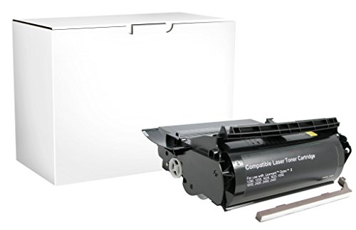 Recreated Cartridges Lexmark 1382925, 1382929, 1382625, 12A0350, 1382920 | Black 17,600 Pages for Lexmark Optra S 1250, 1255, 1620, 1625, 1650, (1382625 Toner Cartridge)