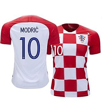 best cheap 23009 f3641 Tcamp WM 2018 Home Trikot Herren Kroatien 10# Luka Modric ...