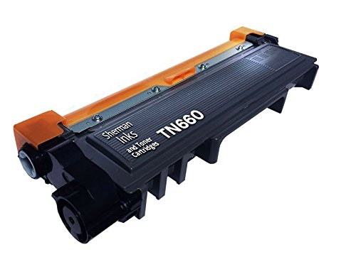 Sherman Toner Cartridge © Compatible Replacement for Brother TN660 High Yield (1 Black Toner) For Printers HL-L2340DW, DCP-L2520DW, DCP-L2540DW, MFC-L2700DW, HL-L2300D, HL-L2320D, HL-L2360DW, HL-L2380DW, MFC-L2720DW, MFC-L2740DW TN 660 TN630 630
