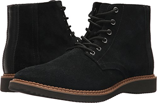 Toms Shoes Porter Boots Black Suede Mens 8.5 by TOMS