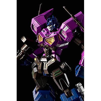 Flame Toys Furai Model Shattered Glass Optimus Prime (Attack Mode) Transformers, Multi: Toys & Games
