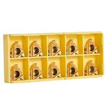 """10pcs 16 ER 3//8/"""")AG60 //16ER AG60 --For machining steel and stainless steel"""