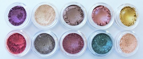 NEW! Glamour My Eyes Mineral Eyeshadow Set for Fabulous Hazel & Green - New My Shades