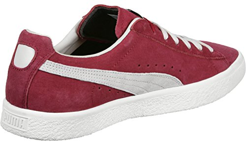 Puma Clyde chaussures rouge blanc