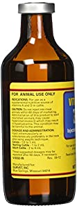 Durvet 002568 Vitamin Ad Injection, Yellow, 250ml