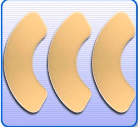 Brava Elastic - EI7200344 - Securi-T Hydrocolloid Skin Barrier Strips (30 count)