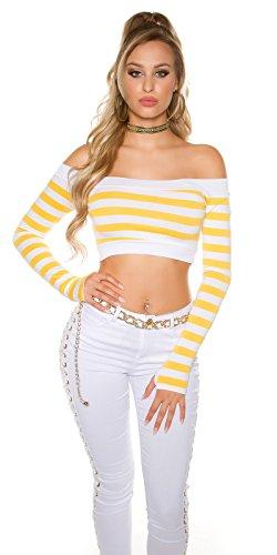 In-Stylefashion - Sudadera - para mujer amarillo