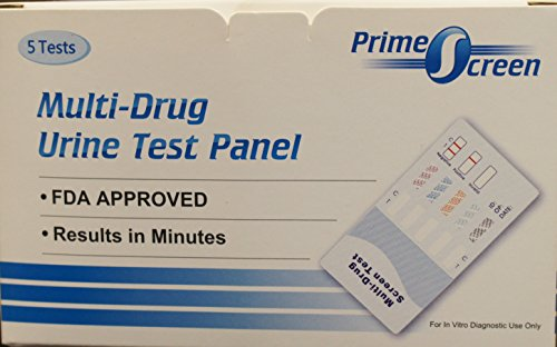 5-Pack-Prime-Screen-5-Panel-Drug-Test-Marijuana-THC-Cocaine-COC-Opiate-OPI-2000Benzodiazepines-BZO-Amphetamine-AMP