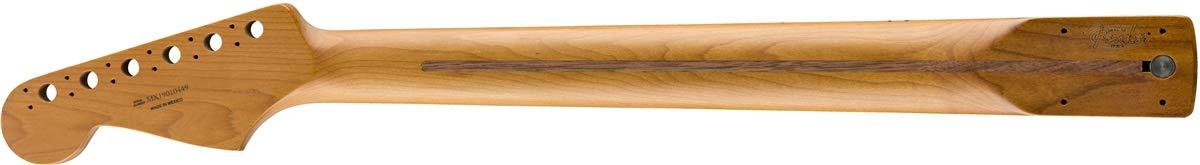 Fender Roasted Stratocaster Maple Flat Oval Shape Electric Guitar Neck 0990402920 12 22 Jumbo Frets