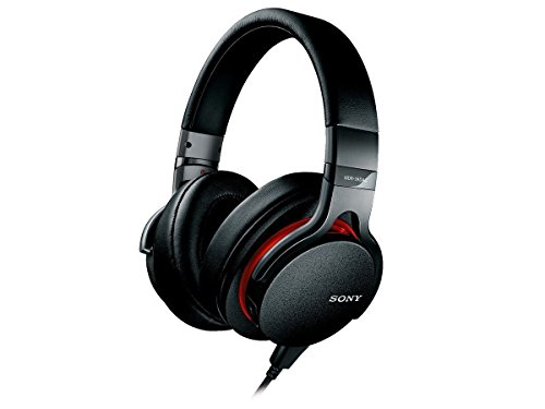 Sony MDR-1ADAC Premium Hi-Res Stereo Built-in DAC Headphones (Black/Red)