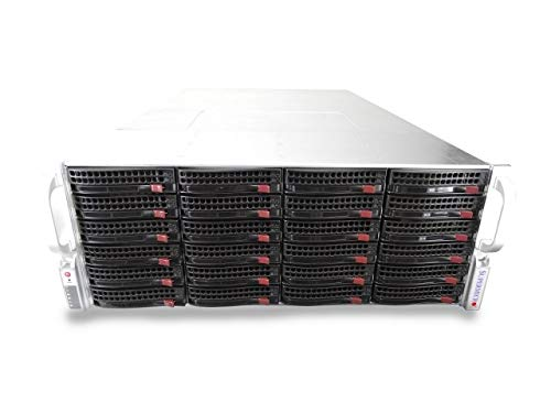 Supermicro CSE-846 4U Rackmount Server with X9DRi-F, 2X Xeon E5-2660 2.2GHz 8 Core, 16GB DDR3, LSI 9210-8i IT Mode, 12x Trays Included, 1200W PSUs, Rails Included (Certified Refurbished)