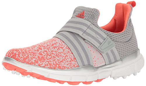 adidas Women's Climacool Knit Golf Shoe, Light Onix, 6.5 M US
