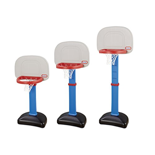 41sZ%2BG%2BxWlL - LT Little Tikes EasyScore Basketball Set, Blue - 3 Ball Amazon Exclusive