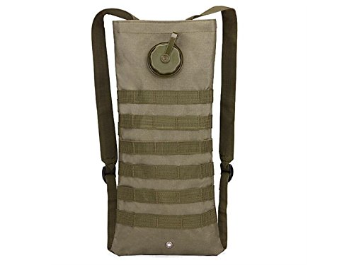 OVIIVO Bike 2.5L Women Hydration Bladder Backpack Adjustable Tactical Water Backpack with Water Bladder for Biking Cycling Travel Hiking (Army Green) by OVIIVO