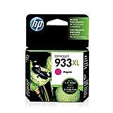 HP 933XL Original Ink Cartridge, Magenta High Yield (CN055AN) for HP Officejet 6100 6600 6700 7110 7510 7610 7612