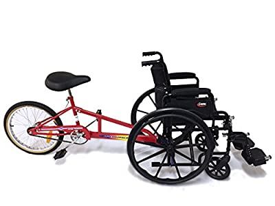 Afterburner Wheelchair Pusher With Wheelchair