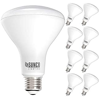 Sunco Lighting 8 Pack BR30 LED Bulb 11W=65W, 2700K Soft White, 850 LM, E26 Base, Dimmable, Indoor Flood Light for Cans - UL & Energy Star