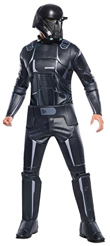Rogue One: A Star Wars Story Men's Deluxe Death Trooper Costume, Multi, (Adult Deluxe Death Trooper Costumes)