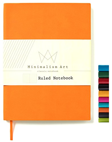 Minimalism Art | Soft Cover Notebook Journal, Size:5.8