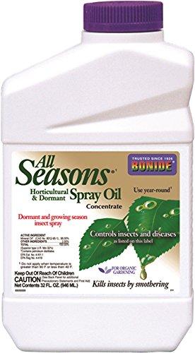 All Seasons Horticultural Oil Spray Concentrate 32FL OZ (Horticultural Spray Oil Seasons)