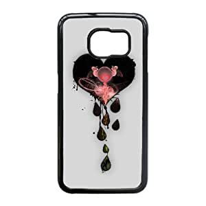 Samsung Galaxy S6 Edge Phone Case, With My Love Image On The Back - Colourful Store Designed
