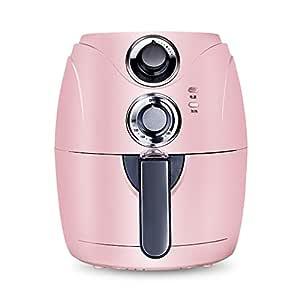 Yong lei shop Freidora Pink Air 1200W, freidora eléctrica sin ...