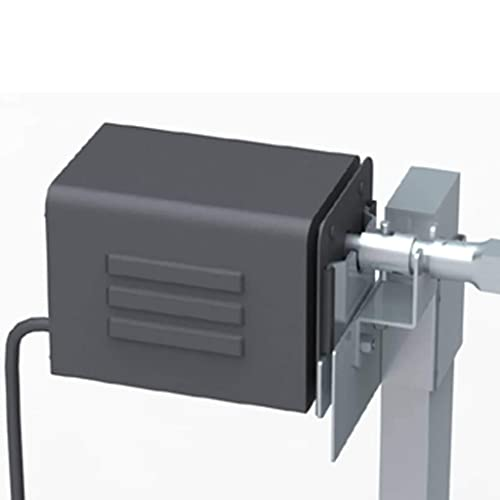 Xingshuoonline Spanferkelgrill Metzgergrill mit elektrischem Antrieb Grillspieß Set Drehspieß für Barbecue
