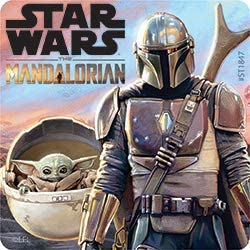 SmileMakers Star Wars The Mandalorian Stickers Prizes 100 per Pack