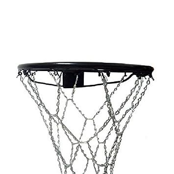 WINOMO redes de baloncesto neto 32 cm, diseño de cadena reticulado ...