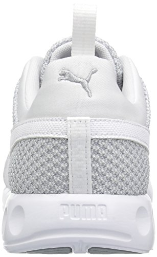 PUMA Men's Carson Knitted Cross-Trainer Shoe Quarry-puma White free shipping best sale fake cheap sale footaction cheap sale high quality HAVBDkRxH