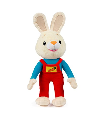(Bunny of The Year Baby First TV: Harry The Bunny Soft Plush Toy - Stuffed Animals for The Perfect Baby Shower Gift. Baby First Year Plush Toys. Infant Toddler Baby Toys - BabyFirst)