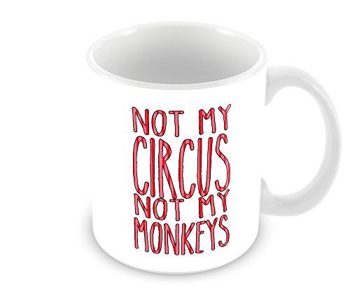 Not My Circus Not My Monkeys Polish Proverb Mug