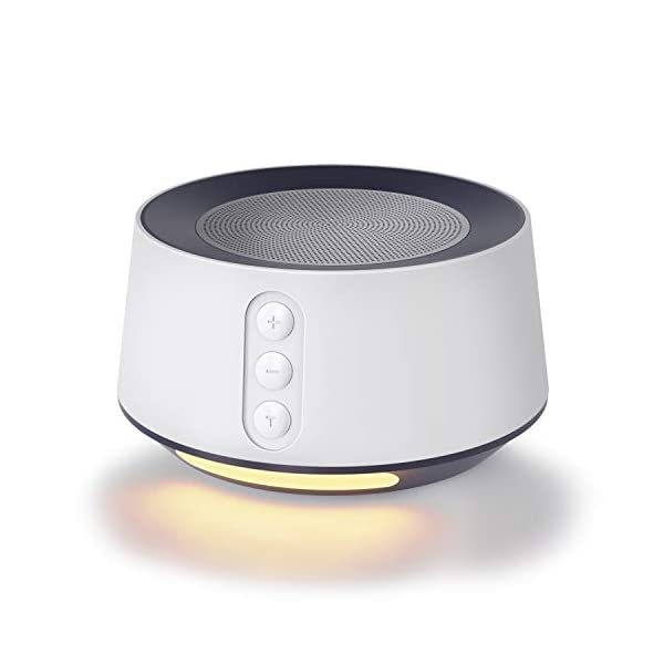 Letsfit White Noise Machine with Baby Night Light for Sleeping, 14 High Fidelity Sleep Machine Soundtracks, Timer & Memory Feature, Sound Machine for Baby & Adults, Home, Office, Travel