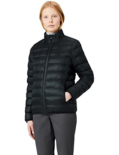 High MERAKI Women's Puffer Jacket Neck Black z76Y7tq