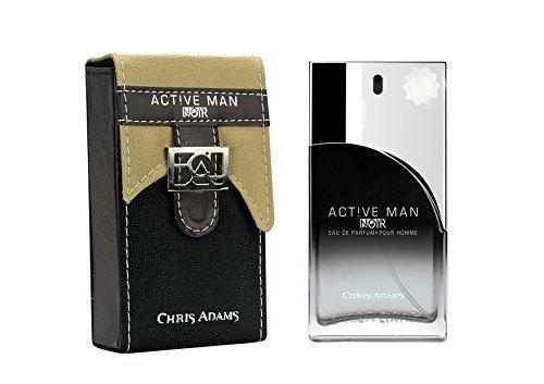 Collection Mens Platinum (New HOT Active Man Noire Pour Homme Eau De Parfum (100 ml) by Chris Adams - Platinum Collection)