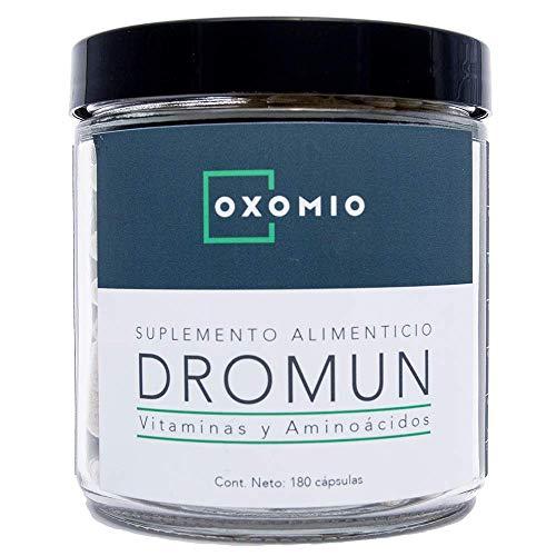 Dromun de Oxomio - Ayuda para dormir rejuvenecedora, 180 cápsulas