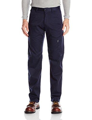 JOBMAN Workwear Men's Lightweight Service Pants, Navy, 42x34