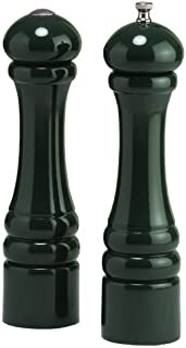 product image for Chef Specialties 10 Inch Imperial Pepper Mill and Salt Shaker Set - Forest Green