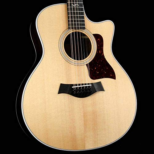 (Taylor 456ce-R Grand Symphony 12-String Acoustic-Electric Natural)