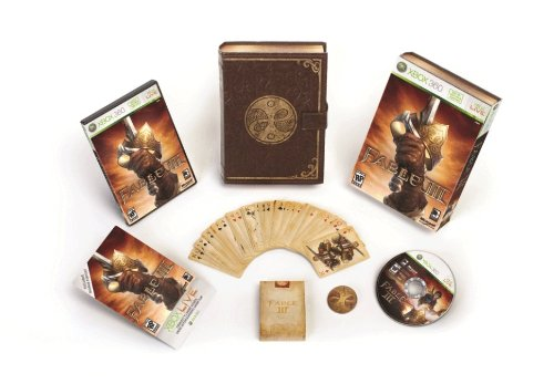 Fable III Limited Collector's Edition -Xbox 360 (Fable 2 Best Weapons)