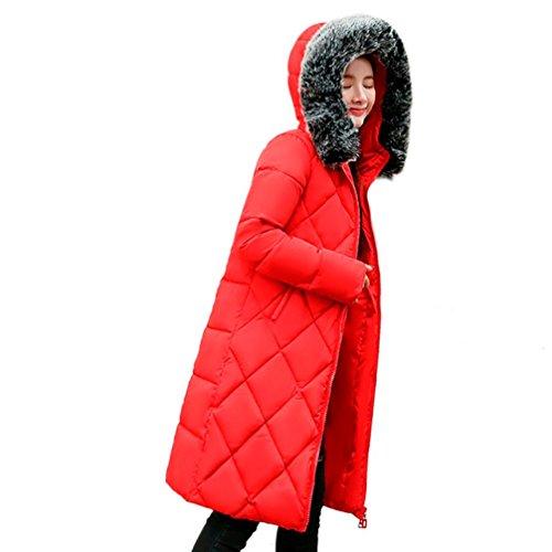 Manteau Mince solide plus Femmes Tefamore Hiver Hiver F5PznqOqp
