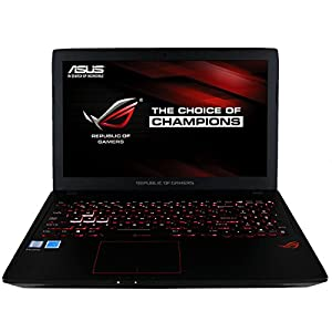 "CUK ASUS ROG Strix GL553VD Gamer Notebook (Intel i7-7700HQ, 32GB RAM, 500GB NVMe SSD + 1TB HDD, NVIDIA GeForce GTX 1050 4GB, 15.6"" Full HD, Windows 10 Home) Gaming Laptop Computer"