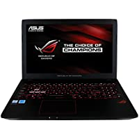 CUK ASUS ROG GL553 Gamer Laptop (Intel Quad Core i7-7700HQ, 32GB RAM, 512GB NVMe SSD + 1TB HDD, NVIDIA Geforce GTX 1050 Ti 4GB, 15 Full HD, Windows 10) Gaming Notebook Computer