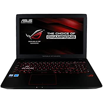 "CUK ASUS ROG GL503VD Gamer Laptop (Intel Quad Core i7-7700HQ, 32GB RAM, 256GB NVMe SSD + 1TB HDD, NVIDIA Geforce GTX 1050 4GB, 15"" Full HD, Windows 10) Gaming Notebook Computer"