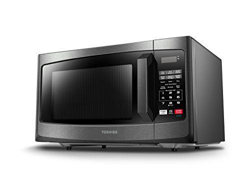 Toshiba-EM131A5C-BS-Microwave-Oven-11-Cuft-Black-Stainless-Steel