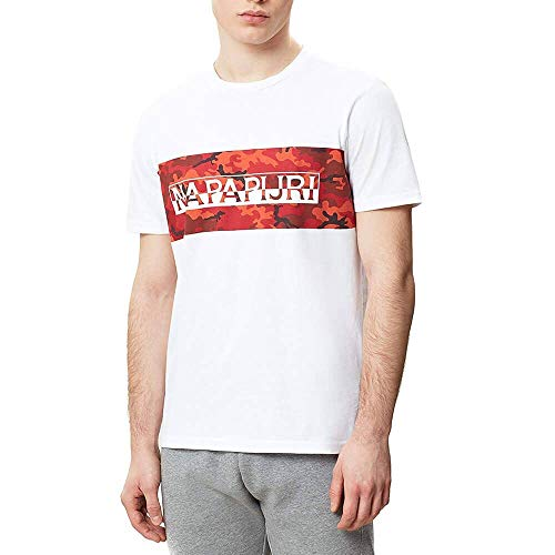 Blanco Bright Napapijri Camiseta Salka Napapijri Bright Salka Blanco Salka Napapijri Camiseta Camiseta qBvAxHwXPR