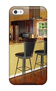 Anti-scratch And Shatterproof Kitchen Counter With Bar Stools Separate Living Room From Cooking Area Phone Case For Iphone 5/5s/ High Quality Tpu Case