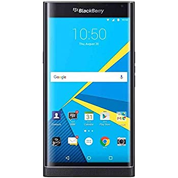 BlackBerry Priv STV100-1 32GB 4G LTE T-Mobile - Slider Android Smartphone -  Black (Renewed)