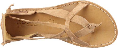 Cowa sandalia cw-025, Sandales femme Beige-tr-sw161